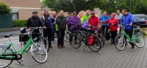 Gruppenfoto Fahrradtour