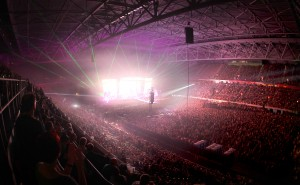 Udo Lindenberg ESPRIT arena Uebersichten, Show, Innenraum Foto: Anke Hesse 07.06.2014