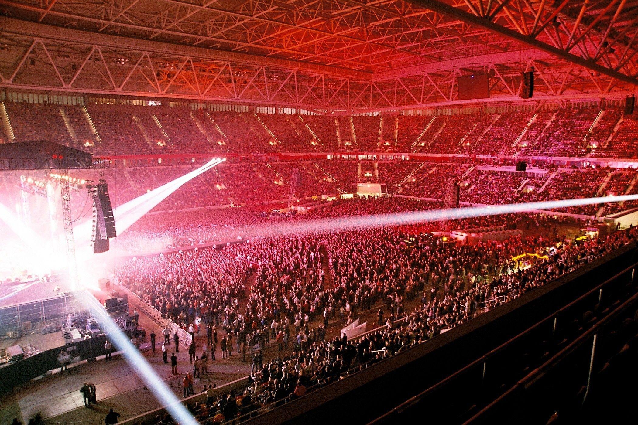 Esprit Arena Plätze Konzert