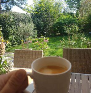 Bild Kaffee Garten
