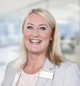 Dr. Andrea Gränzdörffer, Leiterin der Unternehmenskommunikation
