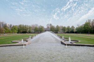 Der Nordpark in Düsseldorf